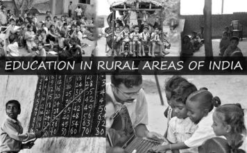 Education Rural Areas India